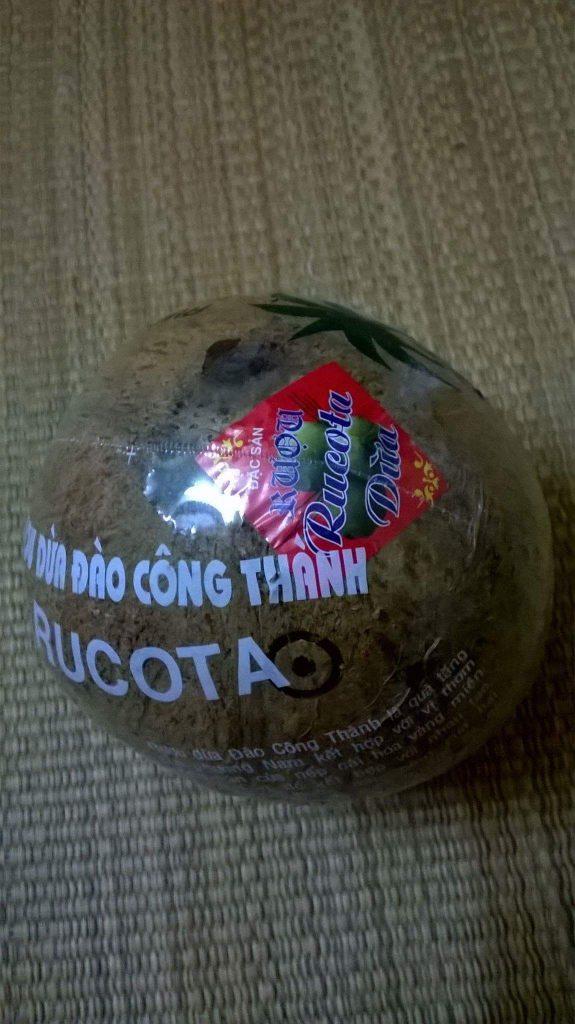 Cách dùng rượu dừa Bến Tre